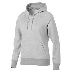 New Balance Womens Volume Fleece Hoodie Grey XS, Grey, rebel_hi-res