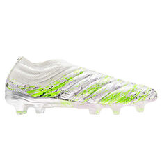 adidas Copa 20+ Football Boots White US Mens 5 / Womens 6, White, rebel_hi-res
