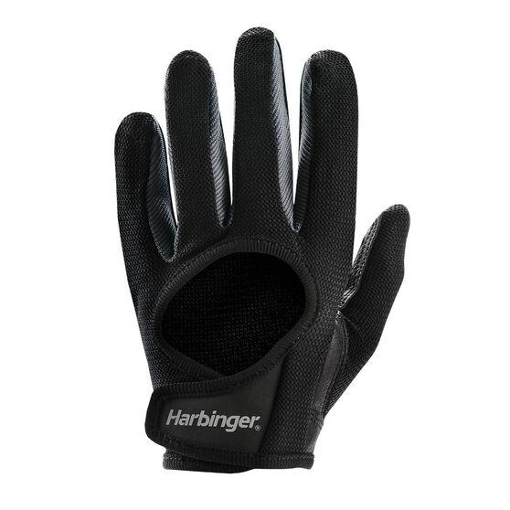 Harbinger Full Finger Womens Power Glove, Black, rebel_hi-res