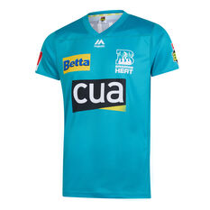 Brisbane Heat 2019/20 Mens BBL Jersey Teal S, Teal, rebel_hi-res