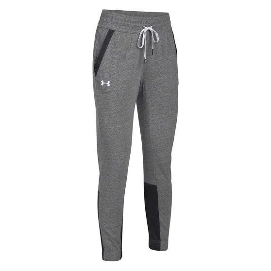 3de3c0fd5fd97b Under Armour Womens Sportstyle Jogger Pants Grey / White XS, Grey / White,  rebel_hi