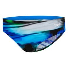 Speedo Mens Zenith Swim Brief Print 12, Print, rebel_hi-res