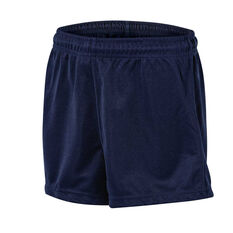 Burley Sekem Boys Pull On Baggy Shorts Navy Blue 4, Navy Blue, rebel_hi-res