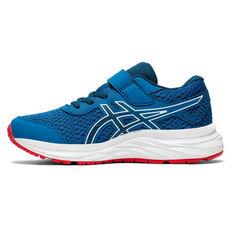 Asics GEL Excite 6 Kids Running Shoes Blue / Red US 11, Blue / Red, rebel_hi-res