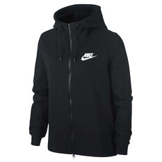 Nike Womens Sportswear Optic Hoodie Black XS, Black, rebel_hi-res