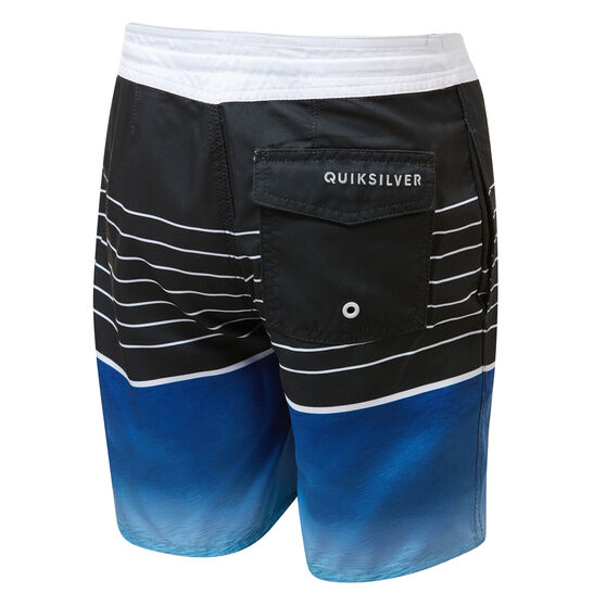 Quiksilver Boys Swell Vision Beach Short Boardshorts, Blue, rebel_hi-res