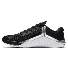 Nik Metcon 6 Womens Training Shoes, Black/Silver, rebel_hi-res