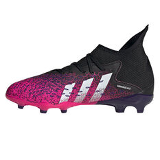 adidas Predator Freak .3 Kids Football Boots Black US 1, Black, rebel_hi-res