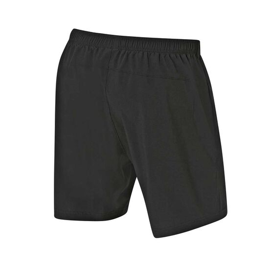 Oakland Raiders 2019/20 Mens Training Shorts, Black, rebel_hi-res