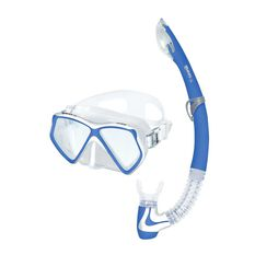 Mares Pirate Coral Junior Snorkel Set Blue S / M, Blue, rebel_hi-res