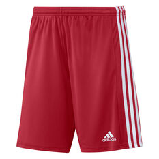Adidas Mens Squadra 21 Shorts Red XS, Red, rebel_hi-res
