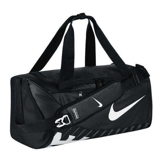 Nike Alpha Adapt Crossbody Duffel Black   White  685ab66ec6dd1