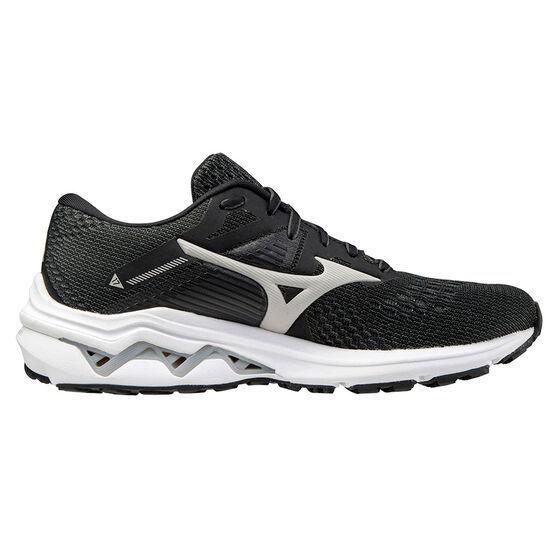 Mizuno Wave Inspire 17 D Womens Running Shoes, Black, rebel_hi-res