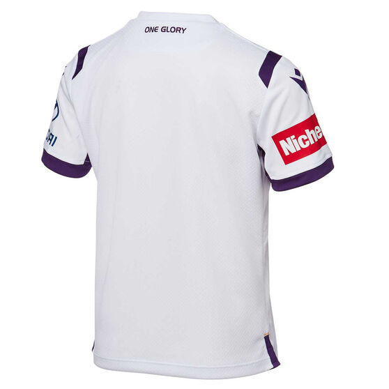 Perth Glory 2019/20 Youth Away Jersey, White, rebel_hi-res