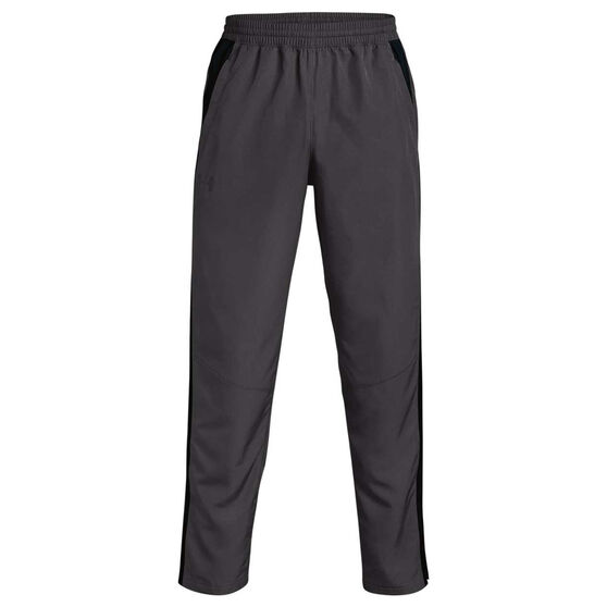 Under Armour Mens Sportstyle Woven Pants, Charcoal, rebel_hi-res