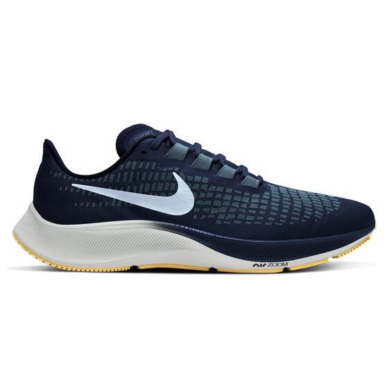 Nike Air Zoom Pegasus 37 Mens Running Shoes, Navy/Blue, rebel_hi-res