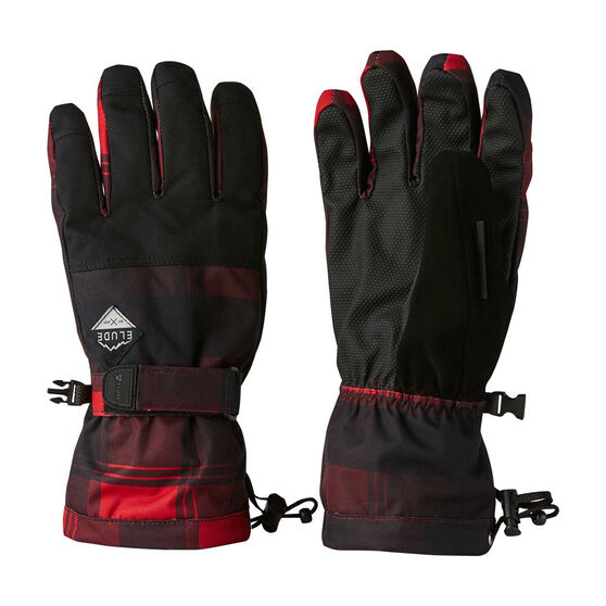 Elude Mens Maximise Ski Gloves, , rebel_hi-res