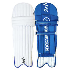 Kookaburra Pace Pro 9.0 Cricket Batting Pads White Youth, White, rebel_hi-res