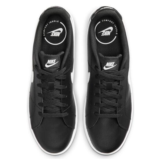 Nike Court Royale 2 Mens Casual Shoes, Black/White, rebel_hi-res