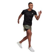 adidas Mens Fast Primeblue Running Tee, Black, rebel_hi-res