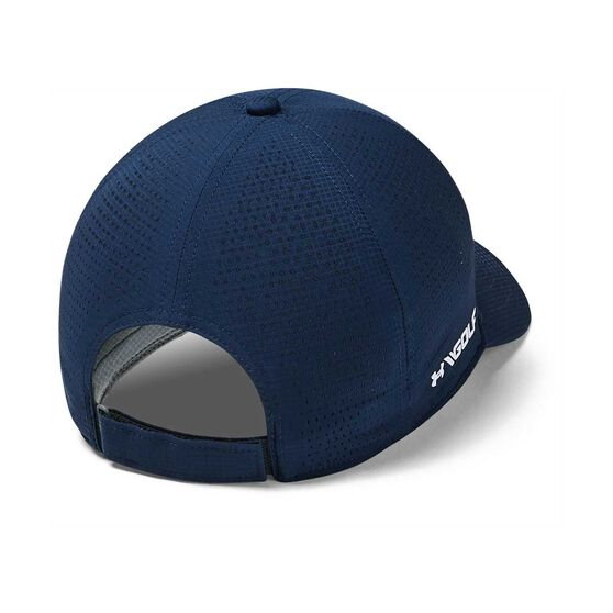Under Armour Mens Driver Cap Navy OSFA, Navy, rebel_hi-res