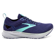 Brooks Ricochet 3 Womens Running Shoes Navy US 6, Navy, rebel_hi-res