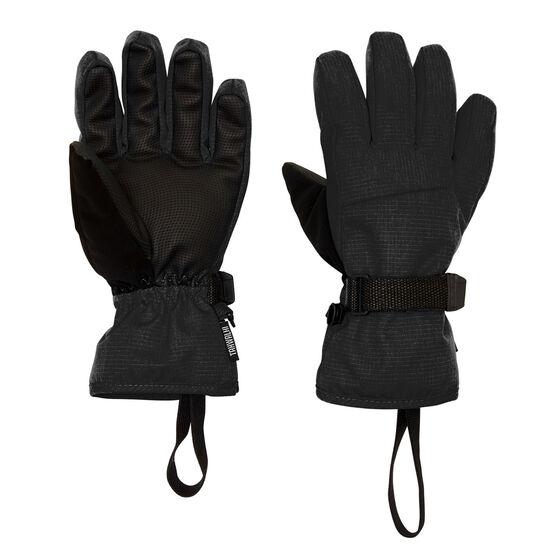 Tahwalhi Kids Cub Ski Gloves, Black, rebel_hi-res