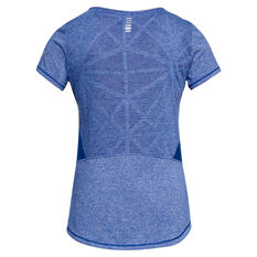 Under Armour Womens Swyft Running Tee Blue XS, Blue, rebel_hi-res