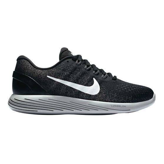 online store 2475c 3de4f Nike Lunarglide 9 Womens Running Shoes Black / White US 8.5