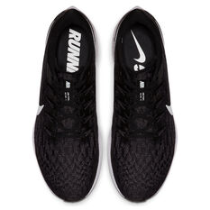 Nike Air Zoom Pegasus 36 Mens Running Shoes, Black / White, rebel_hi-res