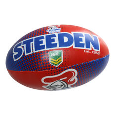 Gray Nicolls NRL Newcastle Knights Sponge Rugby Ball, , rebel_hi-res