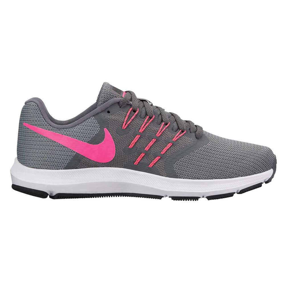 e2b572e914e Nike Run Swift Womens Running Shoes Grey   Pink US 6