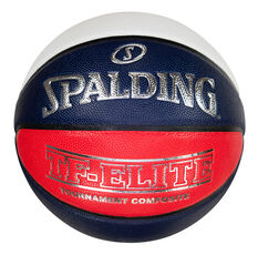 Spalding TF - Elite - OFFICIAL GAME BALL MUVJBL Basketball Multi 6, Multi, rebel_hi-res