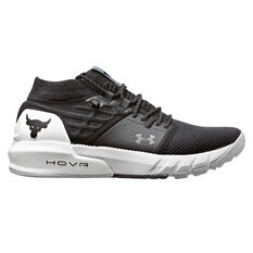 Under Armour Project Rock 2 Kids Training Shoes Grey US 4, Grey, rebel_hi-res