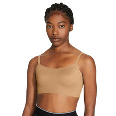 Nike Womens Indy Light Support Sports Bra, Beige, rebel_hi-res