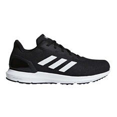 adidas Cosmic 2 Mens Running Shoes Black / White US 7, Black / White, rebel_hi-res