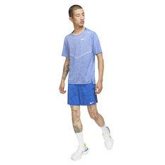 Nike Mens Dri-FIT Rise 365 Tee, Blue, rebel_hi-res