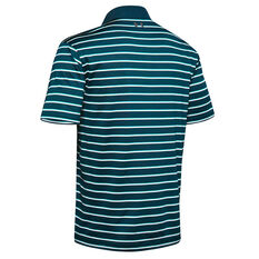 Under Armour Mens Performance Polo Teal S, Teal, rebel_hi-res