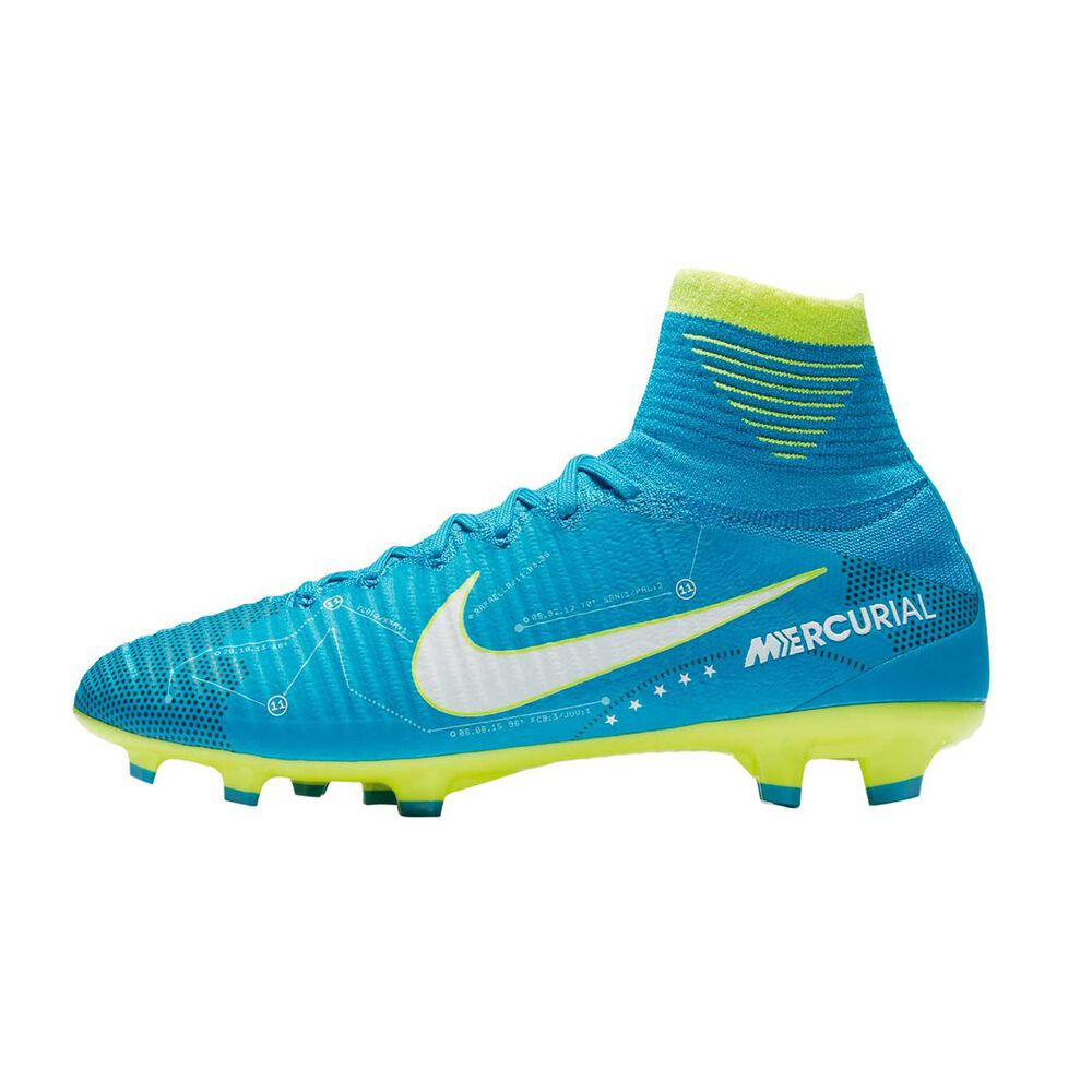 79fb23b7a37 Nike Mercurial SuperFly V NJR Dynamic Fit Junior Football Boots Blue   Navy  US 4 Junior