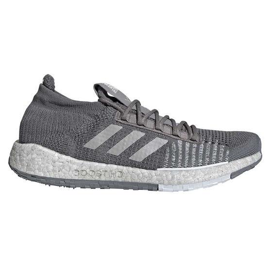 adidas Pulseboost HD Mens Running Shoes, Grey / White, rebel_hi-res