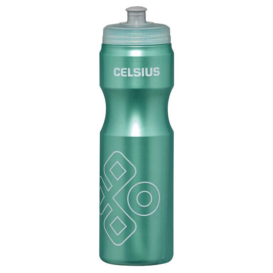 Celsius Squeeze 800ml Water Bottle Teal, Teal, rebel_hi-res
