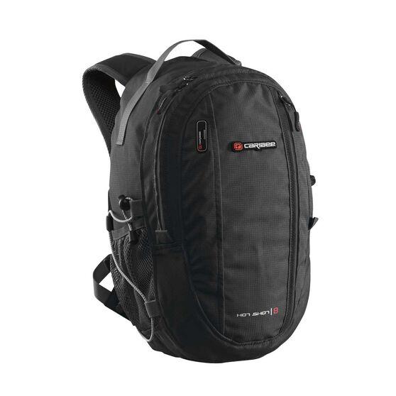 Caribee Hot Shot Backpack Black, , rebel hi-res df4c3f1867