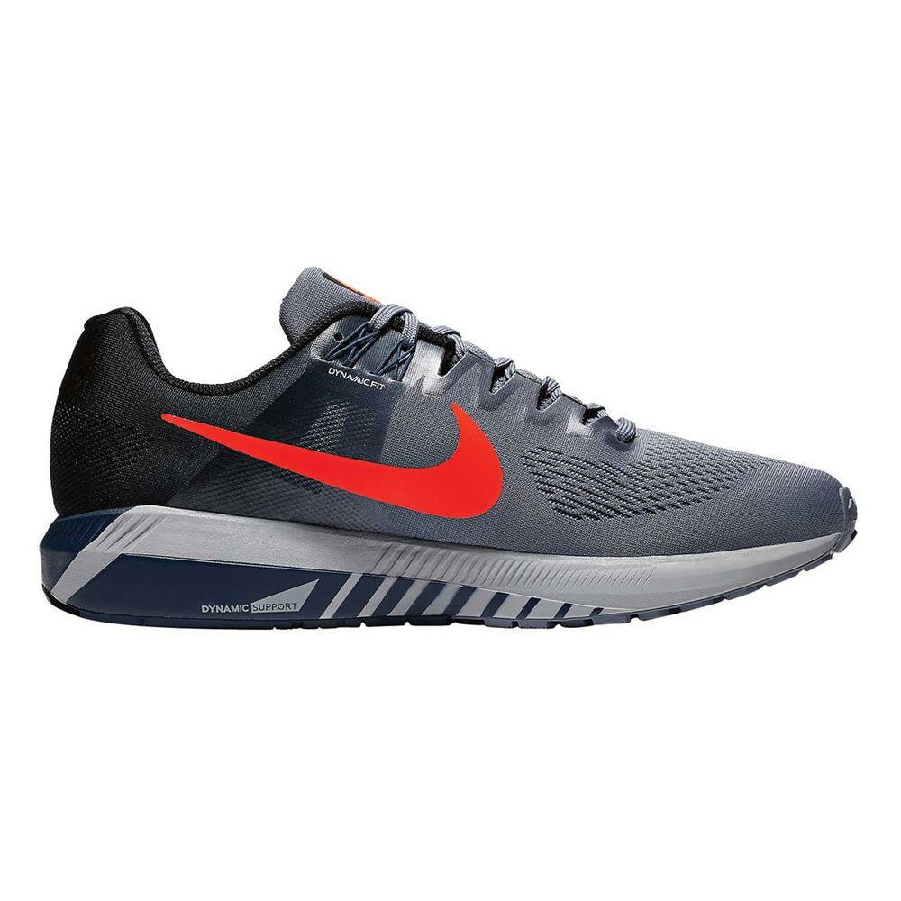 3bd5addab814 Nike Air Zoom Structure 21 Mens Running Shoes Blue   Orange US 8 ...