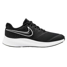 Nike Star Runner 2 Kids Running Shoes Black / White US 4, , rebel_hi-res