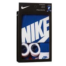Nike Toddlers Futura Logo Boxed Set Royal Blue 0-6 Months, Royal Blue, rebel_hi-res