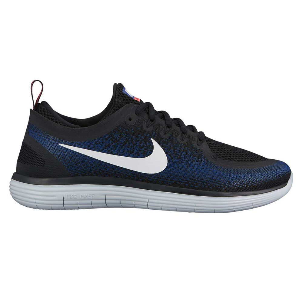 883fcb83e92 Nike Free Run Distance 2 Mens Running Shoes Black   White US 8 ...