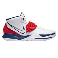 Nike Kyrie VI Mens Basketball Shoes White US 7, White, rebel_hi-res