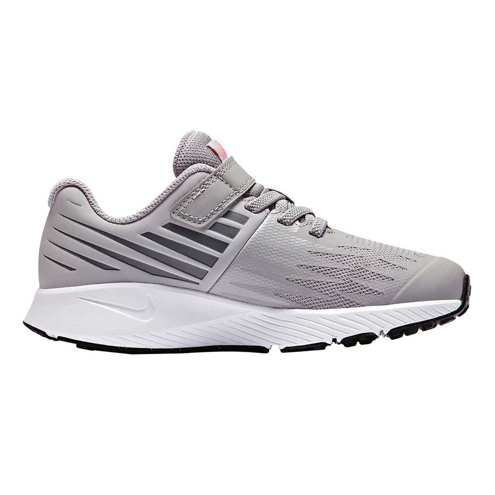 c787a45602f Nike Star Runner Junior Girls Running Shoes Grey   White US 13 ...