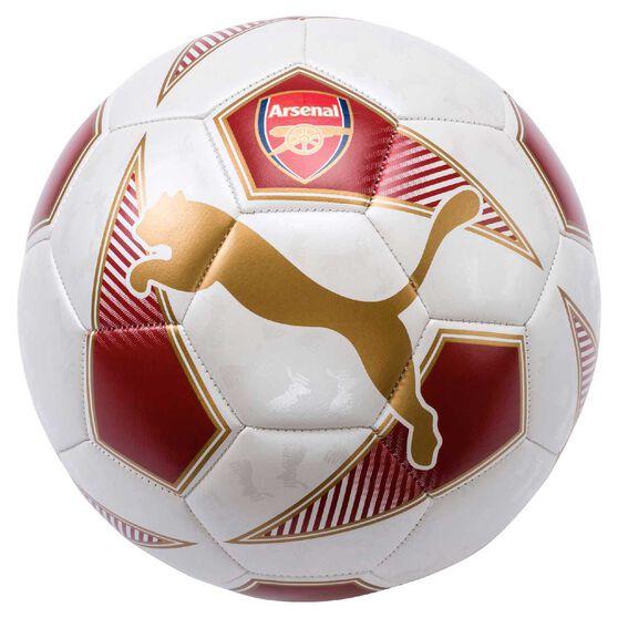 Puma Arsenal Fan Soccer Ball Red / White 5, , rebel_hi-res
