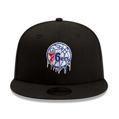 Philadelphia 76ers 2019 Kids New Era Double Dribble 9FIFTY Cap, , rebel_hi-res